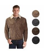 Men's Premium Classic Button Up Fur Lined Corduroy Sherpa Trucker Jacket... - $36.58+