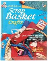 Scrap Basket Crafts Nancy Reames Rodale Craft Book HC Quilting Placemats... - $8.50