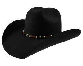 Men's Cowboy Hat El General Texana 20X Horma Toro Color Black Wool - €64,55 EUR