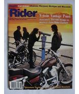 Magazine Rider November 1986 1980s Harley Low Custom vs Yamaha XV1100 Vi... - $7.99