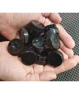20 Mini Black Plastic 1/4oz Pot Container Bottletkdecojars - $29.70