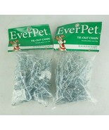Lot of 2 Ever Pet Tie Out Chain 15 Feet  - $23.34