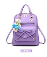 Medium Fashion Girl's Leather Backpacks Brand New Bookbags,Backpacks G126-1