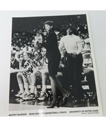Vintage 1980s Signed Notre Dame Muffet McGraw Game Photo - $18.95