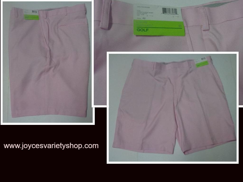 Louis raphael golf pink shorts web collage