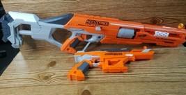 NERF ACCUSTRIKE SERIES LOT 2 GUNS *ALPHAHAWK & FALCONSTRIKE*  - $41.71