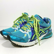 Asics Preleus Gel T480Q Womens Running Athletic Shoes Size 6 Blue - $24.74