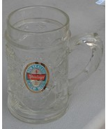 Vintage Pressed Glass Beer Tankard - Steinlager - New Zealand Lager Beer... - $16.82