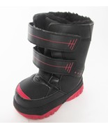 Buster Brown Black & Red Toddler Snow Boots Size 5 NWOB - $39.59