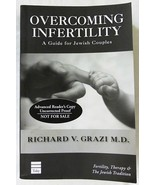 Book overcoming infertility a guide for jewish couples paperback first e... - $9.60