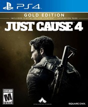 Just Cause 4 - PlayStation 4 Gold Edition [video game] - $41.11