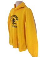 Russell Athletic Mens XL Yellow NFL Washington Football Pullover Pouch H... - $38.61