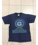Rare!!!Vintage 90s Seattle Mariners 1995 Americam LW Division Champions ... - $45.00