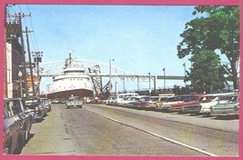 Sault Ste Marie Mi Soo Locks Portage Ship Cars BJs - $3.99