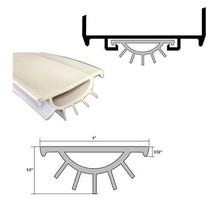 Pemko EV9GR Replacement Gray Vinyl Weatherseal for Door Bottom Door Shoe... - $17.77