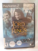 Lord of the Rings: The Two Towers (Sony PlayStation 2, 2002) - black label  - $5.44