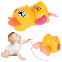 Adorable Electronic Walking Duck Toy With Music Flashing Light Movable K... - $20.00