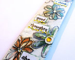 I think good thoughts flowers bookmark thumb155 crop