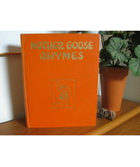 VINTAGE MOTHER GOOSE NURSERY RHYMES 1931 PLATT & MUNK  Illustrations by ... - $29.95