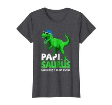 Brother Shirts - Papisaurus T-Shirt | Greatest Dad Ever 2018 T-Shirt Wowen image 1