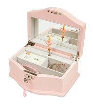 JewelKeeper Girls Wooden Musical Jewelry Box with Lock and Key, Classic ... - €98,96 EUR