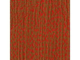 Donghia Sashiko Kani Brown Pink Cotton Upholstery Fabric 10.5 yds 10031-... - $199.50