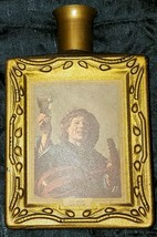 Vintage Jim Beam'ss Choice Whiskey Bottle Frans Hals The Merry Lute Player 1971 - $19.99