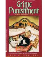 Grime and Punishment a Jane Jeffery Mystery by ... - $1.00