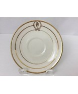 Salem Saucer Plate Century Wreath S Monogram 9053 White Gold Discontinue... - $12.34
