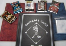 Baseball Card Collection Starter Package - Great Birthday or Christmas G... - $23.96