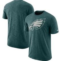 Philadelphia Eagles NFL Cotton Slub Dri-FIT S.S.T-Shirt 2XL/Hthrd Midnit... - $23.95