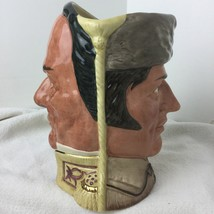 Royal Doulton Character Jug D6729 The Battle of the Alamo Crockett/Santa... - $73.26