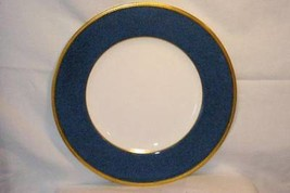 Wedgwood Blue Stippled Band Pattern W6262 Dinner  Plate Swinburne Ulander - $20.78