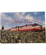 Vintage Postcard, Wine Train, Napa Valley - $9.99
