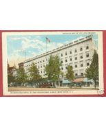 Washington DC Metropolitan Hotel 6th Pa Postcard BJs - $7.00