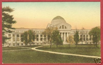 WASHINGTON DC National Museum Hand Colored Postcard BJs