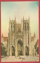 WASHINGTON DC Cathedral Mt St Albans Postcard BJs - $10.00