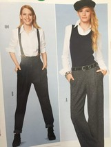Burda Sewing Pattern 6856 Misses Ladies Pants Size 6-16 New - $13.43
