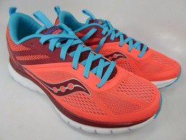 Saucony Liteform Miles Size 8 M (B) EU 39 Women's Running Shoes Coral S30007-3 - $48.86