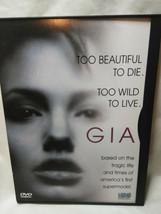 Gia (DVD, 2009)  Angelina Jolie, Mercedes Ruehl, Faye Dunaway - $4.95