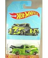 2019 Hot Wheels Walmart  American Truck Series 1/10 '40 FORD PICKUP Gree... - $9.95