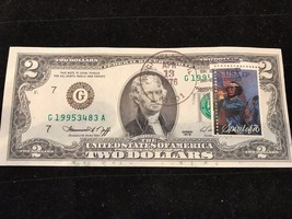 *RARE* ROCK ISLAND, IL - 1976 UNC $2 BILL/NOTE First Day Issue with Spir... - $96.70
