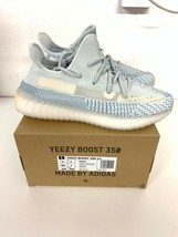 Adidas Yeezy 350 Boost Cloud FW3043 7 UK 7.5 US triple white zebra bred 700 - $403.29
