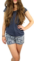 BRAND NEW BETSEY JOHNSON WOMEN'S PREMIUM SEXY FASHION FLOWER MINI SUMMER SHORTS