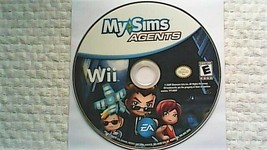 MySims Agents (Nintendo Wii, 2009) - $4.15