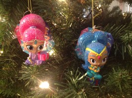 Christmas Ornament Shimmer & Shine Kurt S. Adler Set of 2 - $22.72