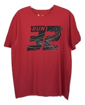 Xersion Run 32 Graphic Tee Size XL Cabaret Red New With Tags - $9.99