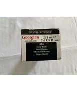 Daler-Rowney Georgian Oil Color 225 ml Tube - Ivory Black New NWT - $18.99
