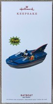 2019 Hallmark Batboat Batman Bat Boat DC Comics Classic TV series Orname... - $19.95