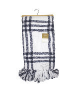 NWT Berkshire Luxe Boutique Blanket Yarn Dye Polychenille Throw Soft War... - ₹3,702.97 INR